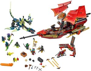 LEGO Final Flight of Destiny's Bounty