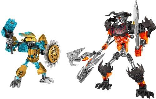 LEGO Mask Maker vs. Skull Grinder
