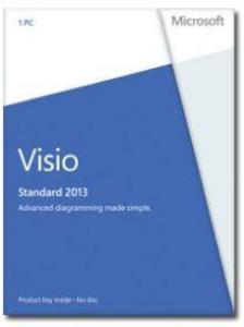 Microsoft Visio Standard 2013 1 lisens
