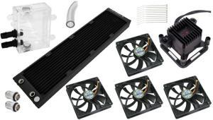 Techbay Performance Compact Vannkjølingsett 4x120-45