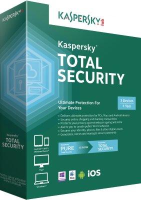 Kaspersky Total Security Multi-Device 2016