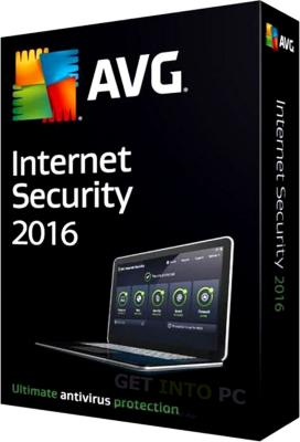 AVG Internet Security 2016 (4 Lisenser)