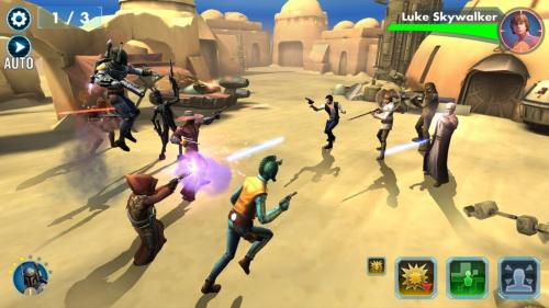 Star Wars: Galaxy of Heroes til iPad