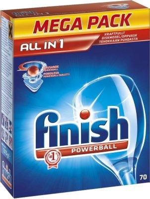 Finish Powerball All in One oppvaskmiddel 41504