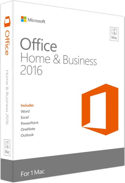 Microsoft Office Mac 2016 Home & Business (Norsk)