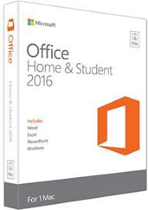 Microsoft Microsoft Office Mac 2016 Home&Student (Eurozone)