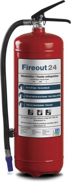 Fireout 24 Pulverslukker 6KG