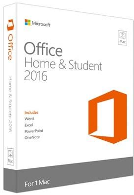 Microsoft Office Mac 2016 Home & Student Nordisk Medialess