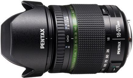Pentax SMC DA 18-270mm F3.5-6,3