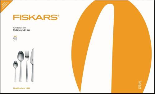 Fiskars Functional Form Bestikksett 24 deler
