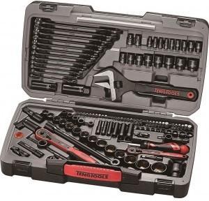 Teng Tools 127 delers verktøysett 1/4 og 3/8
