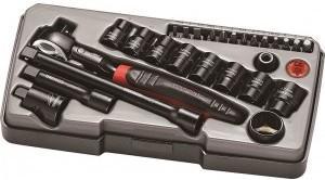 Teng Tools 27 deler pipesett 3/8