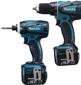 Makita DK1465S drill+slagtrekker (2x3,0Ah)