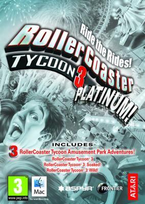 RollerCoaster Tycoon 3: Platinum til PC