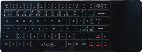 Dacota Platinum Keyboard Glass