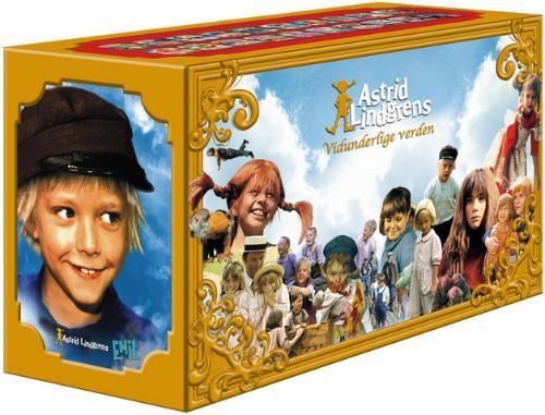 Astrid Lindgrens Vidunderlige Verden