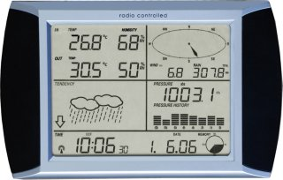 Professional Touch Screen Weather Center