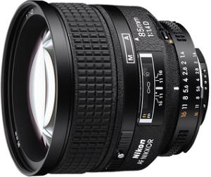 Nikon AF-D Nikkor 85mm f/1.4 IF