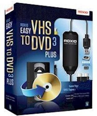 Roxio Easy VHS to DVD 3 Plus