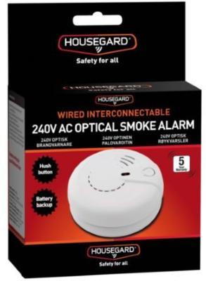 Housegard SA410S optisk røykvarsler