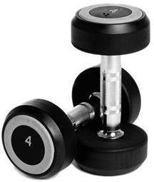 Abilica RubberDumbbell 2x4 kg