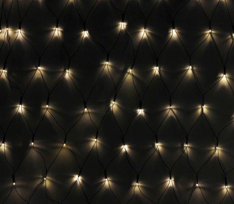 VidaXL LED Lysnett (7x0.8m)