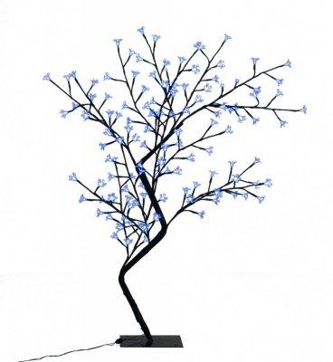 VidaXL LED Kirsebærtre Blått Lys 120cm