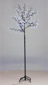VidaXL LED Kirsebærtre Blått Lys 210cm