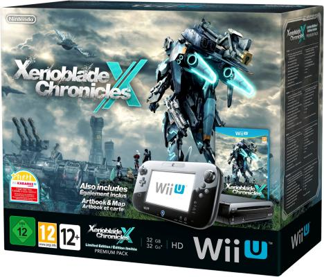 Xenoblade Chronicles X Premium Pack til Wii U