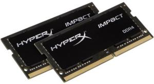 Kingston HyperX Impact SO-DIMM DDR4 2400MHz 16GB (2x8GB)