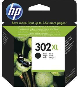HP Blekk 302XL Svart