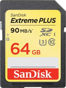 SanDisk Extreme Plus SD 64 GB