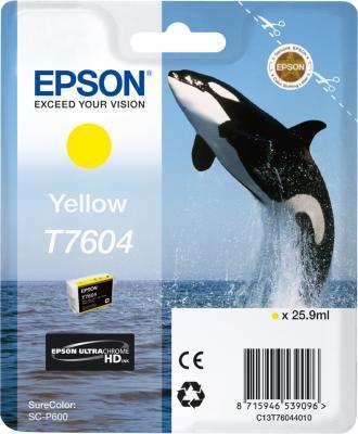 Epson Blekk T7604 Gul