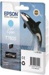 Epson T7605 Lys Cyan
