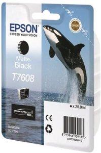 Epson T7608 Matt Sort