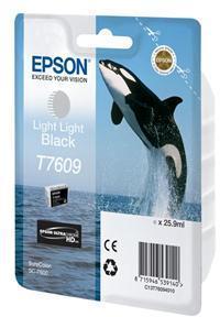 Epson T7609 Lys Lys Sort