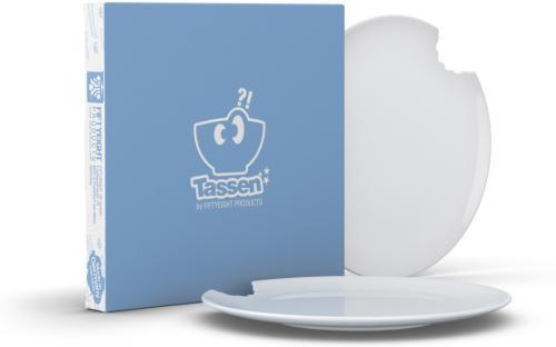 Tassen Følelsestallerken med bitt 2-pakk (20 cm)