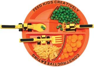 Constructive Eating Barnetallerken