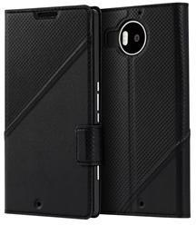 Mozo leather thin flip cover Lumia 950XL