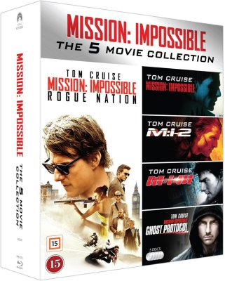 Mission Impossible 1-5