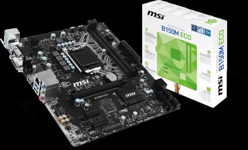 MSI B150M ECO