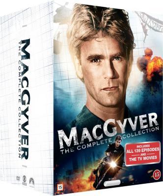 MacGyver: komplett serie