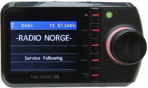 Tiny Audio C5 DAB+ Biladapter