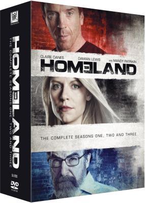 Homeland - Sesong 1-3
