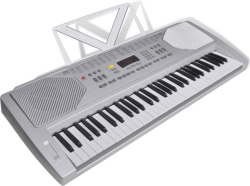 VidaXL Elektronisk Piano Keyboard med Notestativ