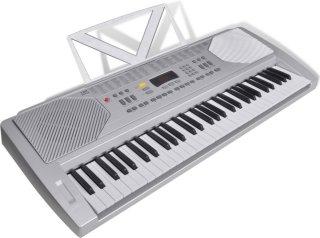 Elektronisk Piano Keyboard med Notestativ