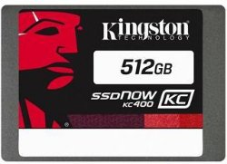 Kingston SSDNow KC400 512GB