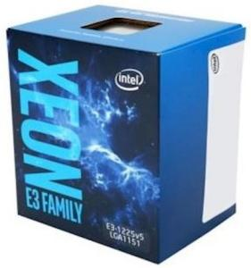Intel Xeon E3-1225 V5