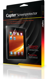 Copter Screenprotector Samsung Galaxy Tab S2