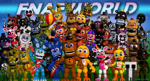 Five Nights at Freddy's World til iPad